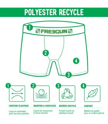 Men's Ork recycled polyester Boxer