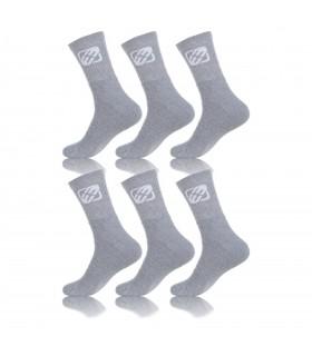 Pack of 6 men's unicolor Socks
