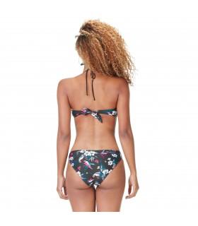 Maillot de bain femme 2 pièces haut bandeau et bas culotte Exotic