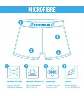 Shorty Freegun Microfibre Fille Superman