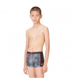 Boxer de bain AOP garçon avec empiècement Camouflage