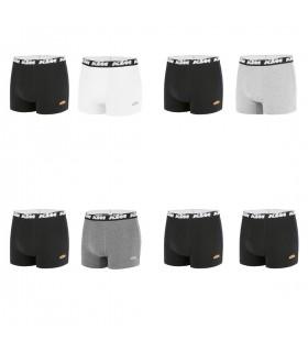 Lot de 8 Boxers coton homme KTM