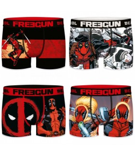 Lot de 4 Boxers homme Deadpool