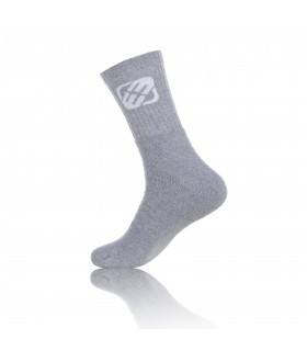 Pack of 12 grey Socks