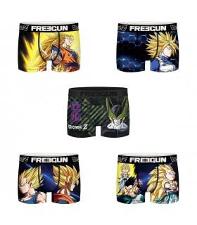 Lot de 5 Boxers Freegun homme Dragon Ball Z