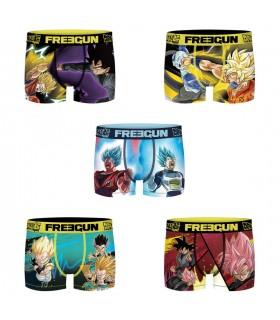 Lot de 5 Boxers Freegun garçon Dragon Ball Super