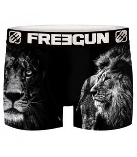 Lot de 5 Boxers Freegun homme Animals
