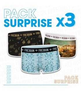 Pack Surprise de 3 Shortys Freegun Fille