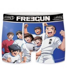 Lot de 3 Boxers Freegun garçon Captain Tsubasa