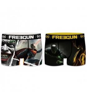 Lot de 2 Boxers Freegun homme Dc Comics