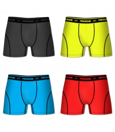 Lot De 4 Boxers Freegun Aktiv