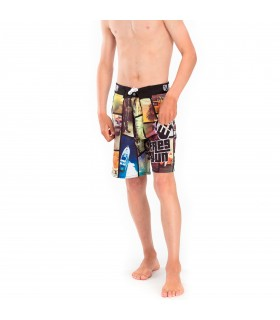 Boardshort Garçon Long Freegun