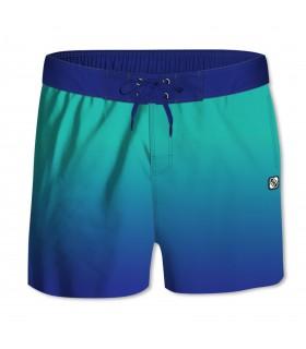 Boardshort Homme Dégradé Bleu