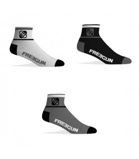 Lot de 3 Paires de Chaussettes Socquettes Freegun homme colorée