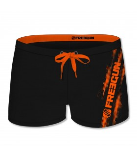 Maillot De Bain Homme Logo Orange