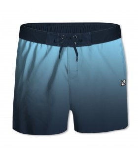 Boardshort Garçon Dégradé Bleu Foncé