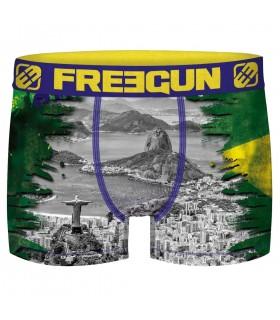 Boxer Freegun garçon World Tour Brazil