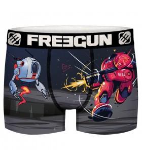Boxer Freegun garçon Geek Comics Robot