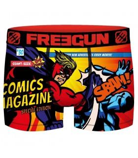 Boxer Freegun garçon Geek Comics Battle