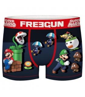 Boxer Freegun garçon Super Mario Riot
