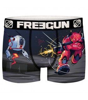 Boxer Freegun homme Geek Comics Robot