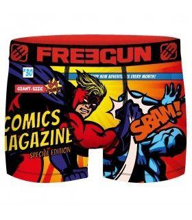 Boxer Freegun homme Geek Comics Battle