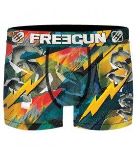 Boxer Freegun homme Dual Subli Dollar