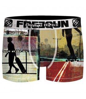 Boxer Freegun homme Dual Subli Skater