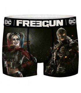 Boxer Freegun homme DC Comics Harley