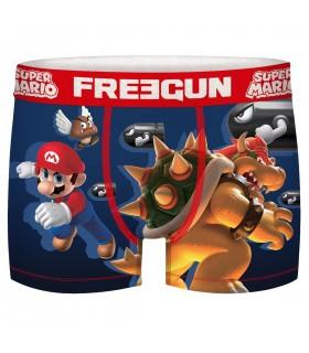 Boxer Freegun homme Super Mario End Level