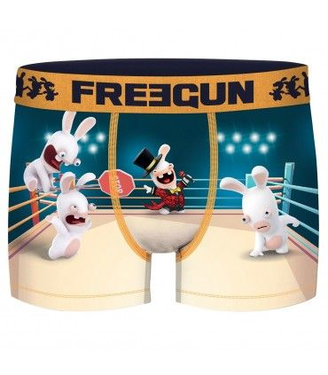 Boxer homme Lapins Crétins Ring