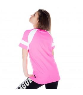 T-shirt manches courtes femme bicolore