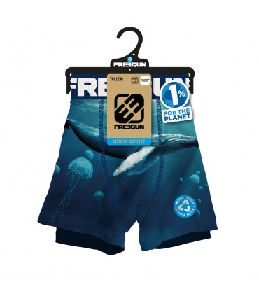 Boxer homme Landscape recycled Montain