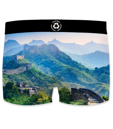 Boxer homme Landscape recycled Muraille