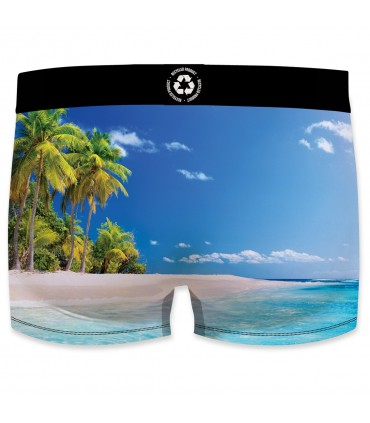 Boxer homme Landscape recycled Tropic