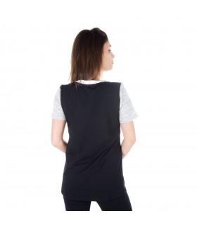 T-shirt femme uni miss freegun