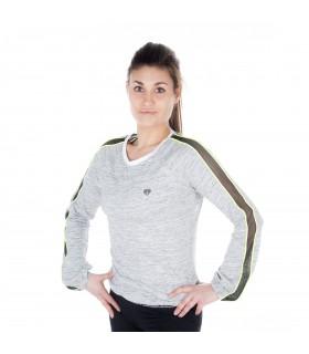 T-shirt manches longues Femme Uni Miss Freegun