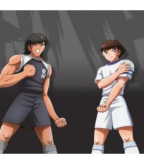 Boxer Freegun garçon Captain Tsubasa Kojiro vs Tsubasa