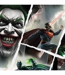 Boxer homme DC Comics Fight Joker