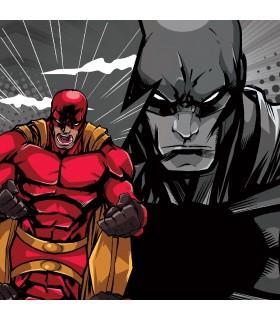 Boxer garçon Geek Comics Heroes