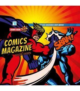 Boxer homme Geek Comics Battle