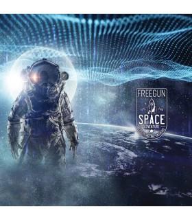 Men's microfiber Blue Space Boxer