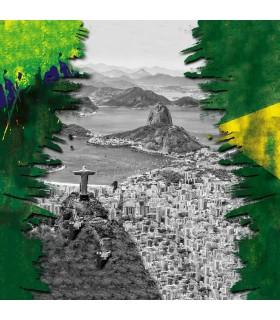 Men's Brazil Nation microfiber Boxer