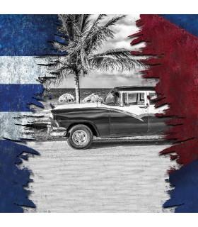 Men's Cuba Nation microfiber Boxer