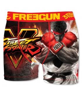 Boxer Homme Freegun Street Fighter Ryu