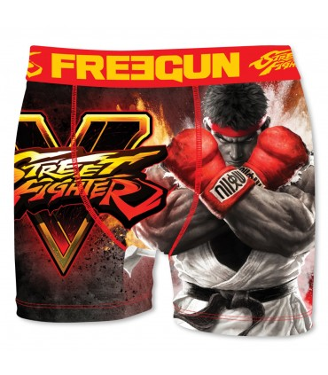 Boxer Homme Ryu Street Fighter