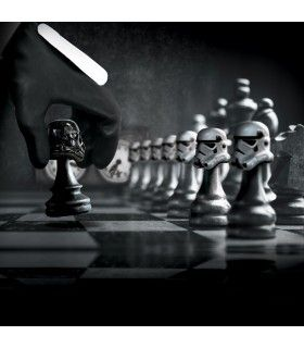 Boxer homme Stormtrooper Chess Game