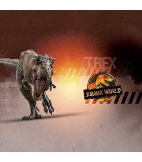 Men's Jurassic World Universal Tyranausorus Boxer