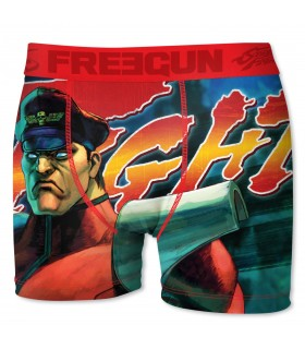 Boxer Freegun garçon Street Fighter Bis