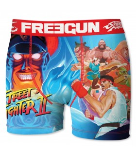 Boy's Street Fighter Pow Boxer